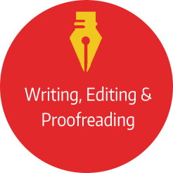 Writing, Editing & Proofreading